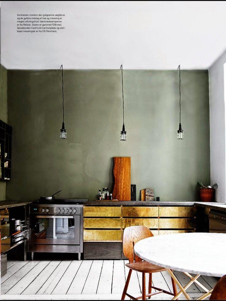 kaki moodboard   Pinterest   Innenarchitektur küche, Küche und ...