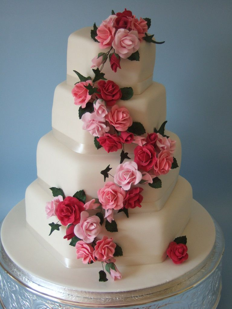 Wedding Cakes Wedding Cake Images Pink Rose Wedding Cake Dream Wedding Cake