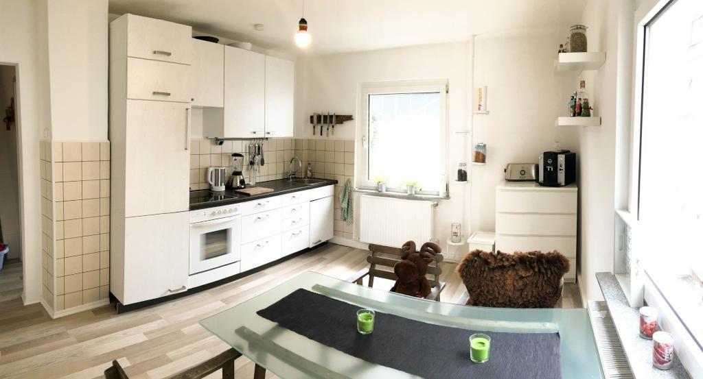 moderne und gemütliche wg-küche in siegen mit küchezeile ... - Moderne Kche Gemtlich