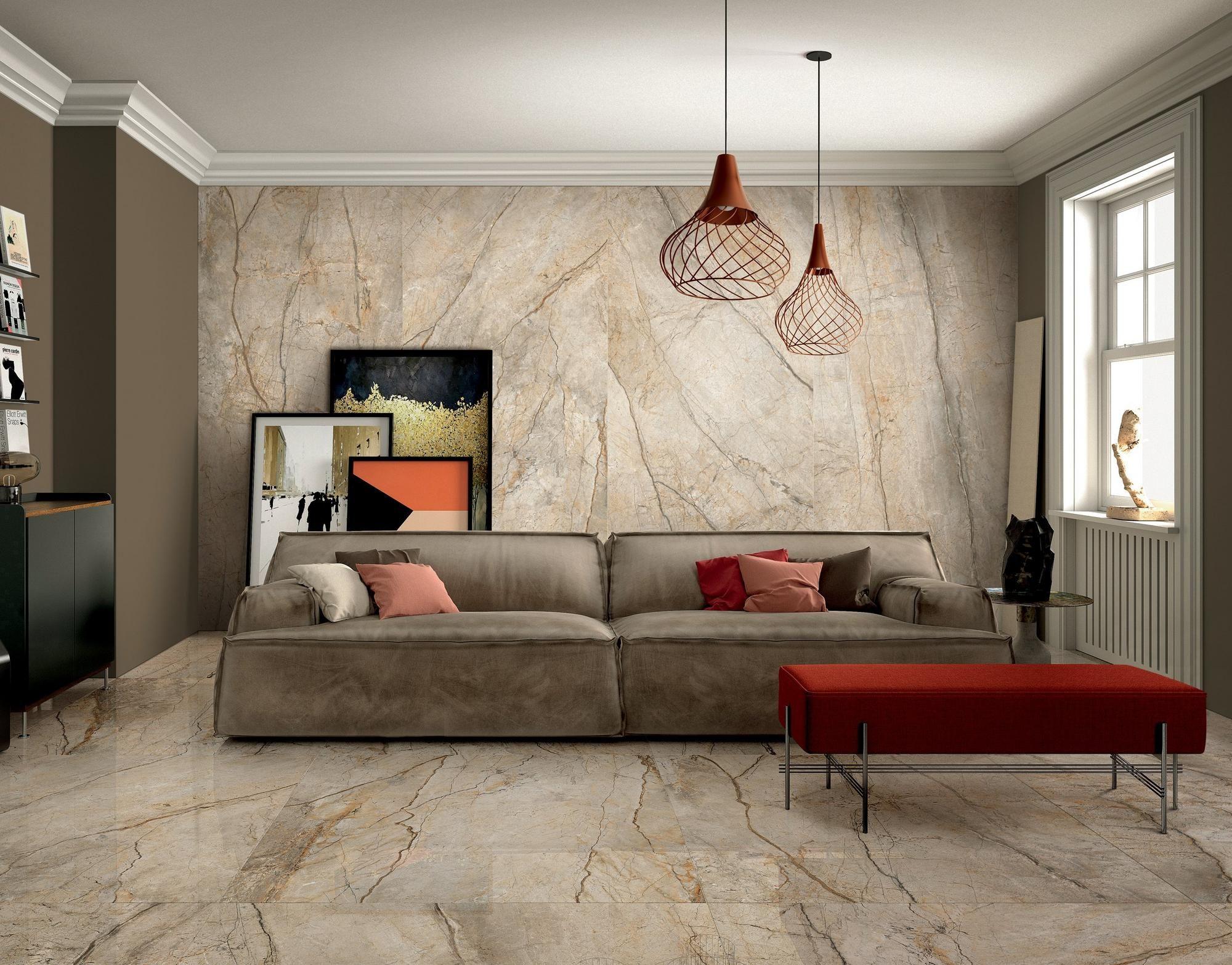 Bellmeade Greige Polished Porcelain Tile In 2020 White Polished Porcelain Tiles Flooring Options Durable Living Room Flooring #porcelain #tile #for #living #room