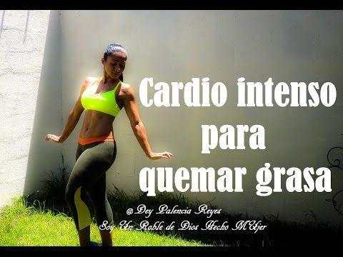 Cardio intenso para quemar grasa - Cardio Hiit - ( Rutina 273) - Dey Palencia Reyes - YouTube