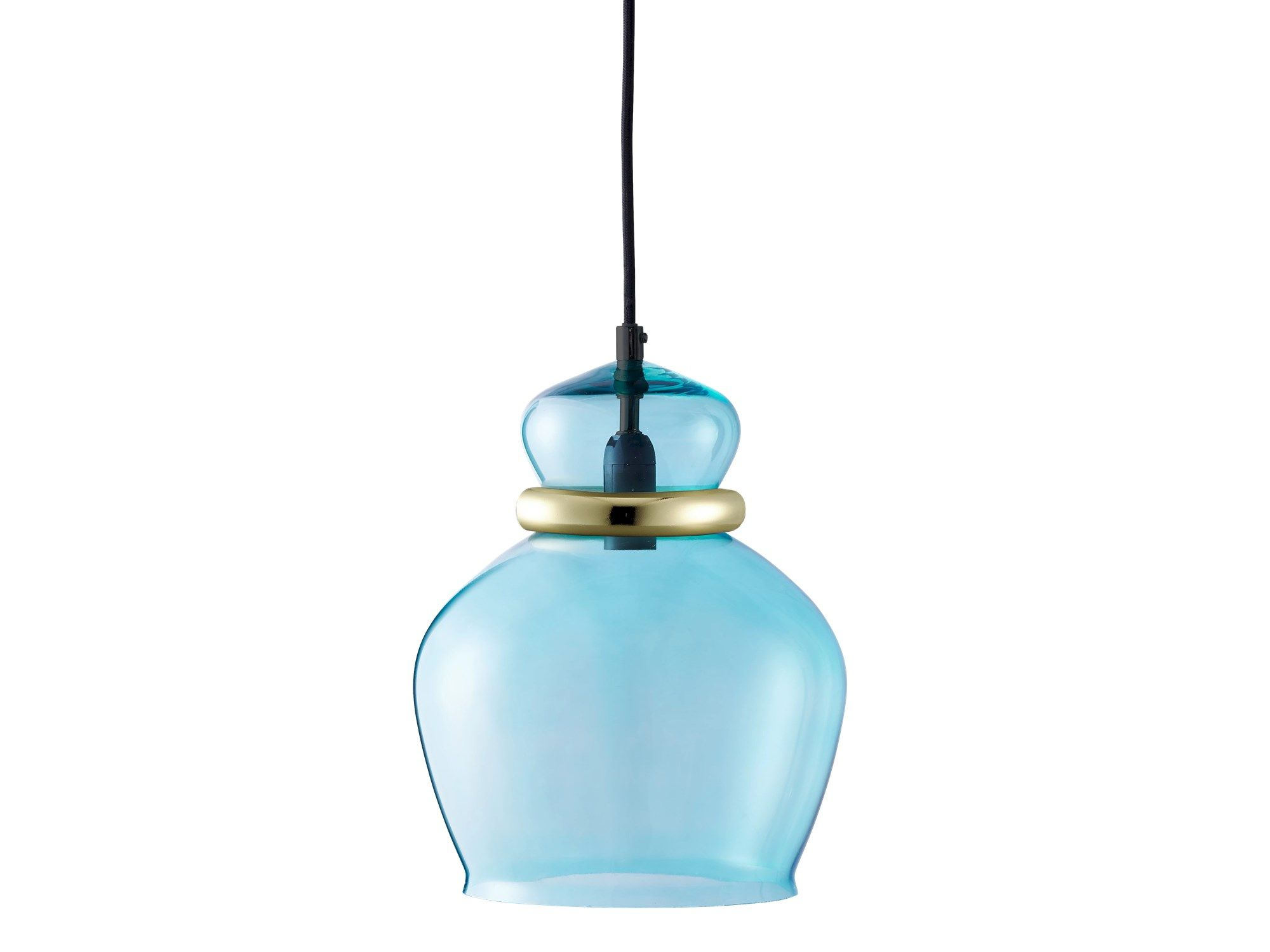 These seductive little darlings play with the idea of showing rigid glass and metal materials in their softest most tactile shapes. A series of pendant lamps in sumptuous colours and curvaceous shapes.