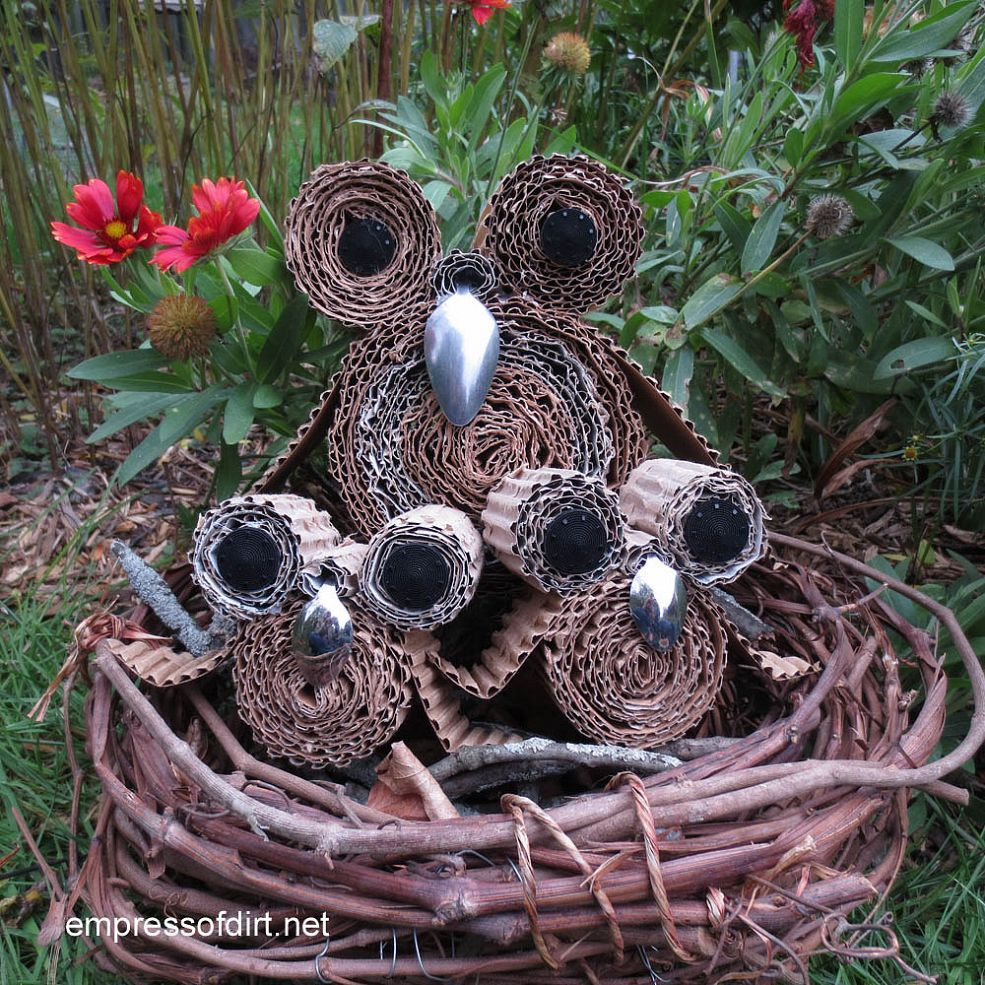 Make Your Own Earth-Wise Owls :: Hometalk