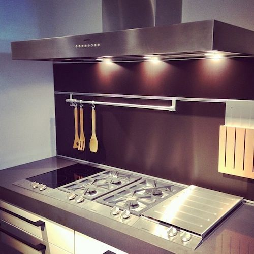 Gaggenau #stove Top In The LA #showroom Showing The New 200 Series Vario  Cooktops