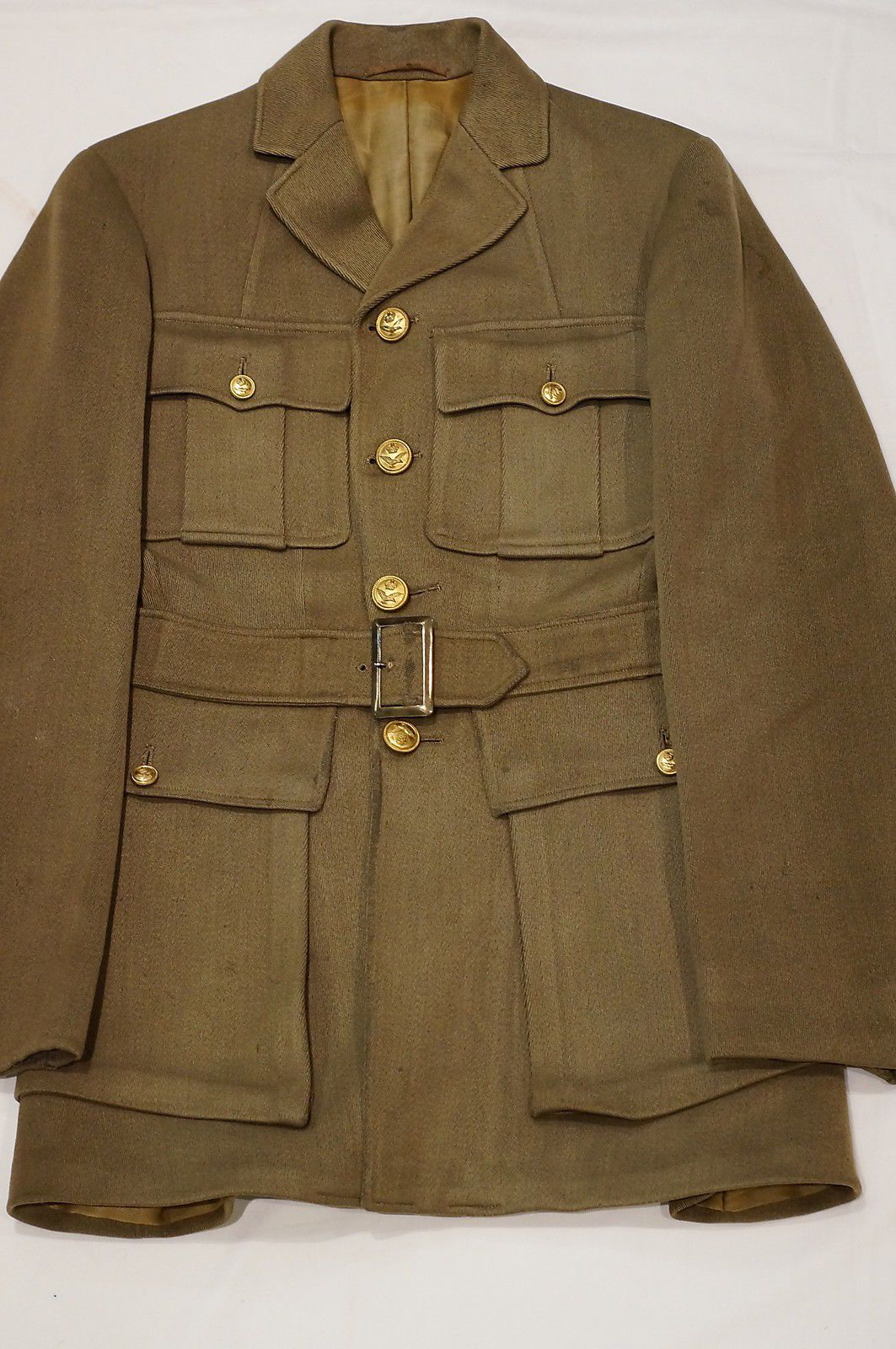 WW1 Canadian RAF Officers Candidate Service Dress Jacket
