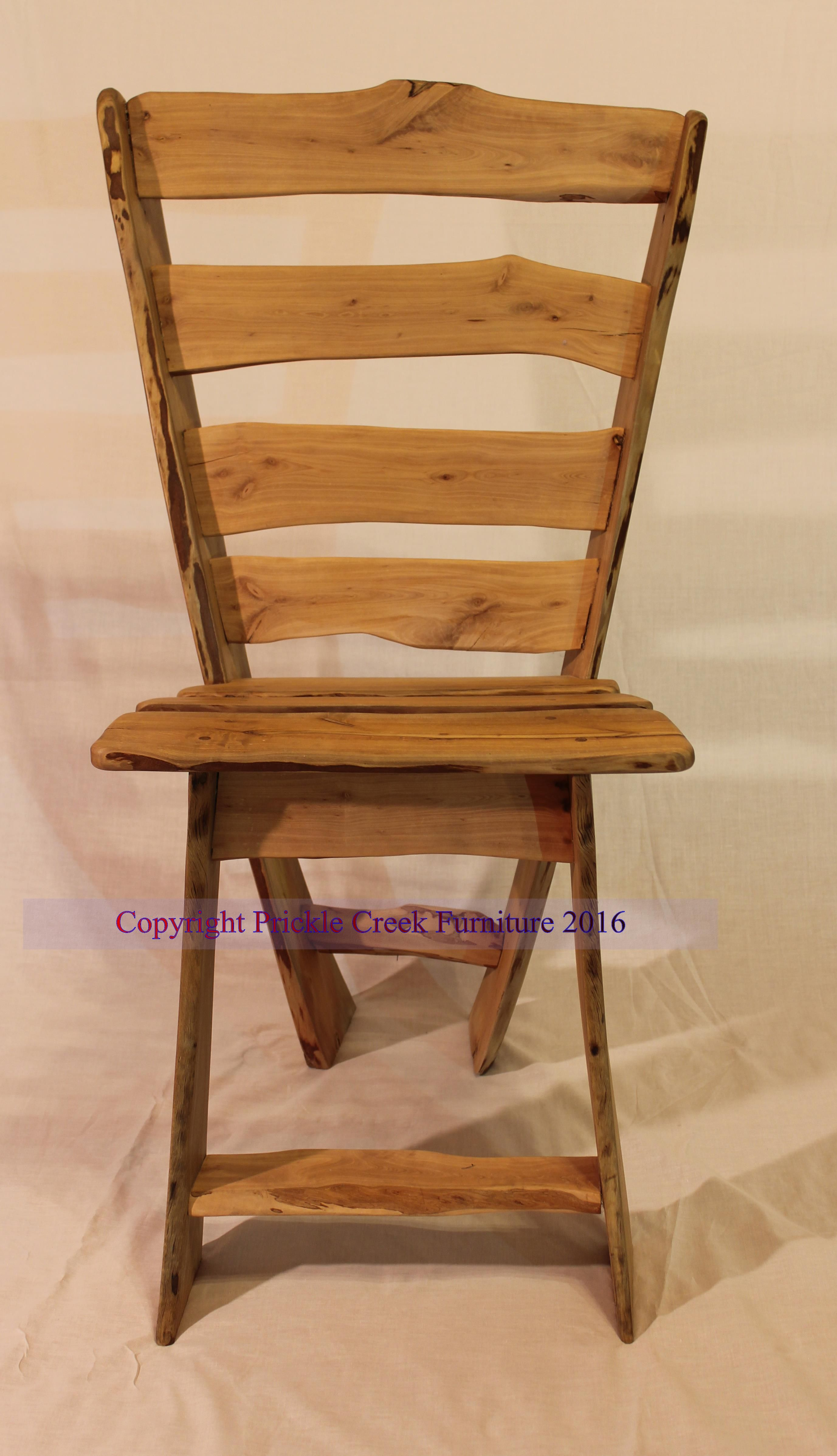 Dining chair handmade from Eco Sourced Fruitwood by Prickle Creek Furniture & Dining chair handmade from Eco Sourced Fruitwood by Prickle Creek ...