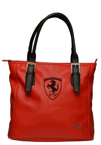 e2f1103d4c Puma Ferrari Handbag Tote Bag Red | ~Top gift guide~ in 2019 | Bags ...