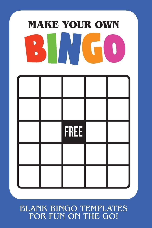 Bingo Card Template Bingo Template Bingo Card Template Bingo Cards