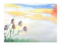 simple watercolor painting - Google Search
