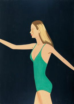 Sarah Mearns, 2011, by Alex Katz