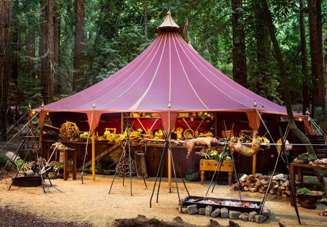 Viking wedding feast