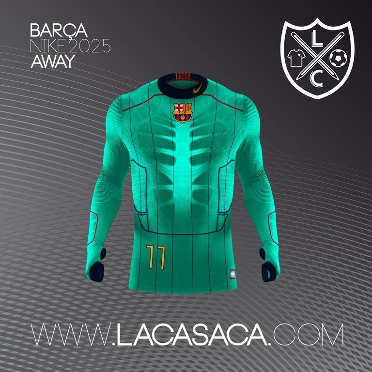 Nike 2025 Fantasy Kits - Barça Away  e038c5f0d12