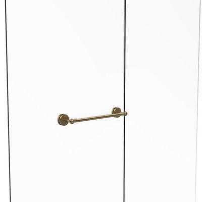Allied Brass Prestige Skyline Shower Door Wall Mounted Towel Bar Finish: Brushed Bronze