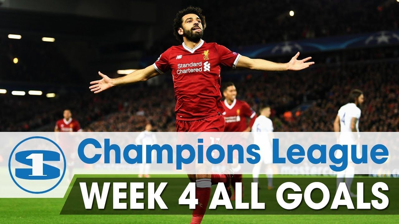 Champions league 1718 round 4 all goals hd 1080p ucl