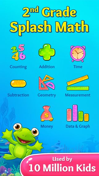 2nd Grade Splash Math Games Kids Learning Numbers Counting Money