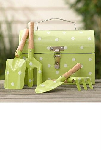 Bon Gifts For Kids   Kids Garden Tools With Tool Box   MM Sez: Never Mind The  Kids   This Would Suit A Devoted Gardener!