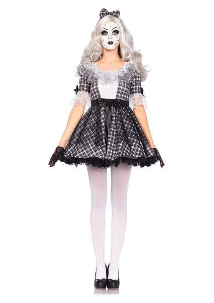 Pretty Porcelain Doll Costume Porcelain doll costume, Porcelain - womens halloween ideas