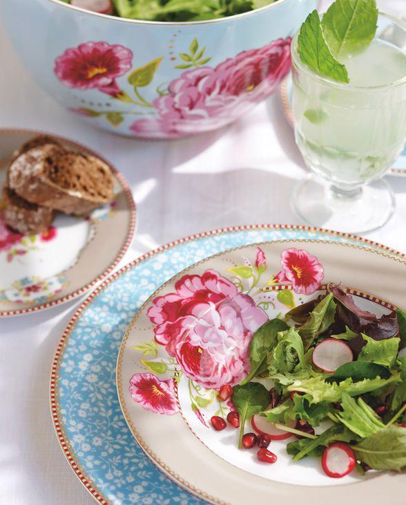 Romantische Stimmung mit dem Geschirr von PiP Studio aus der Serie Lovely Branches
