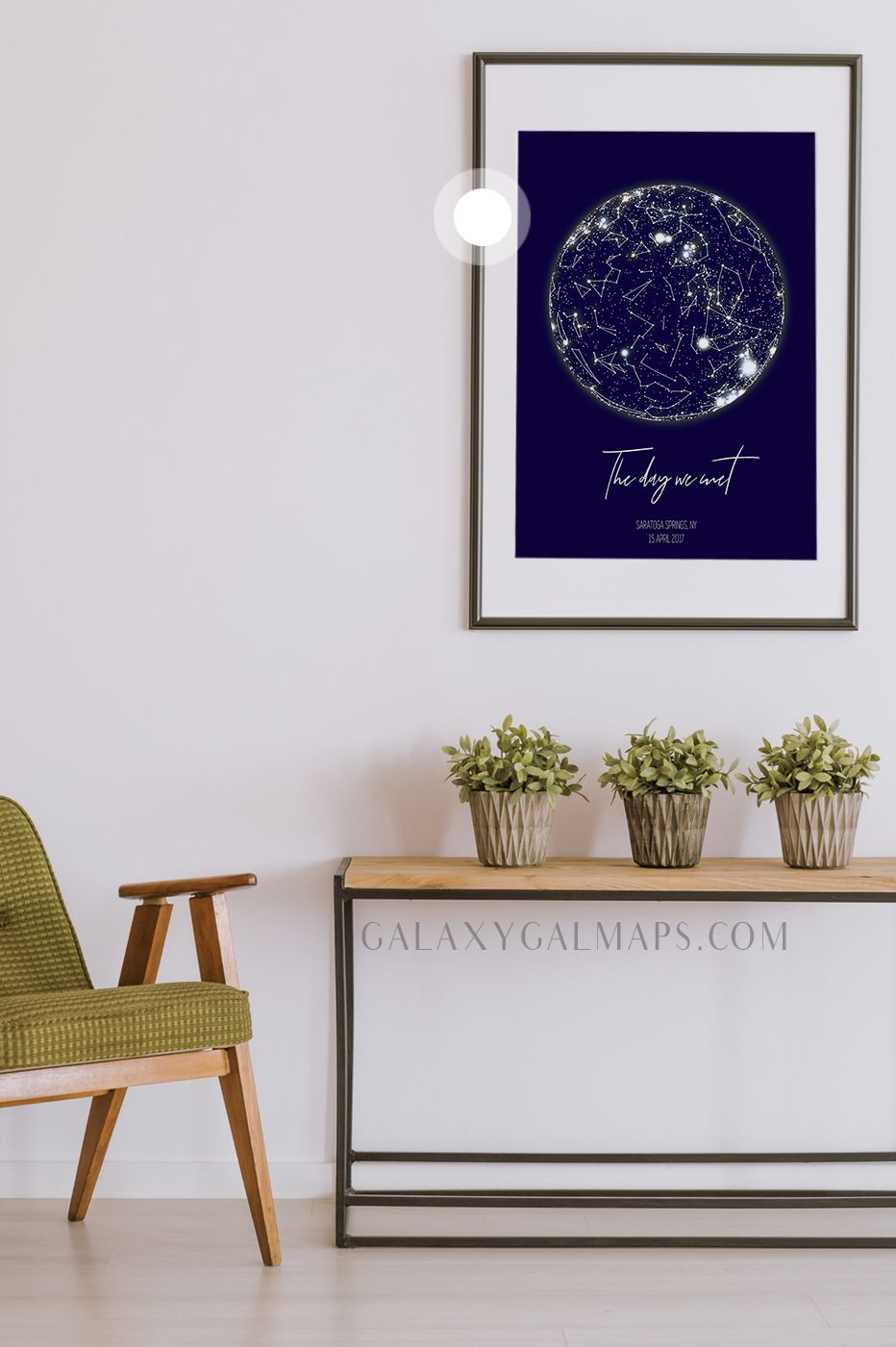 UNIQUE Sky Map for Your Date Star Map By Date Wall Art