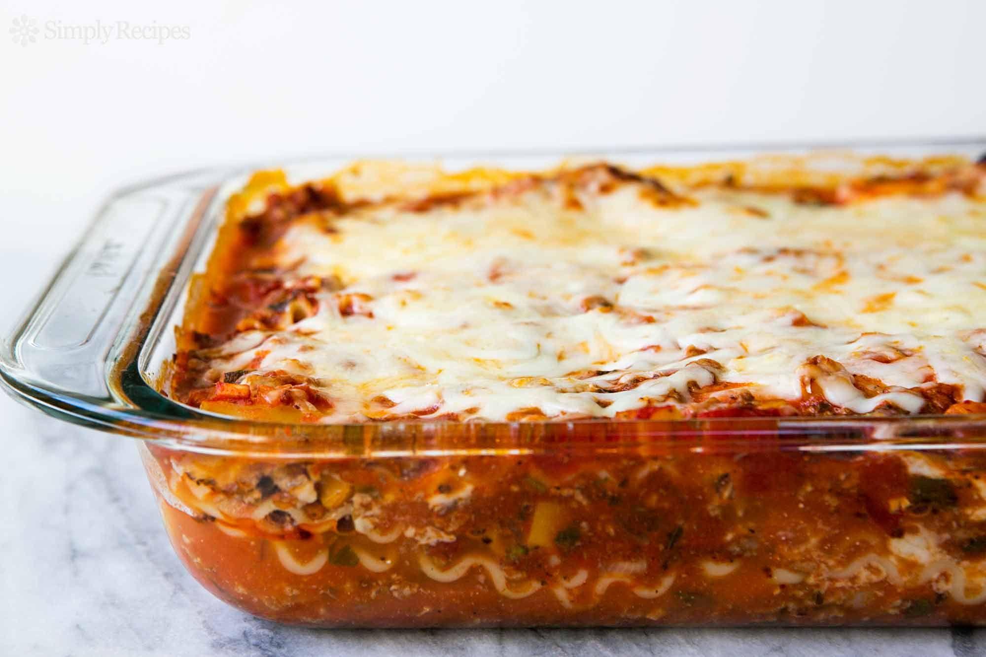 Lasagna Recipe Best Lasagna Recipe Simply Recipes Baked Lasagna