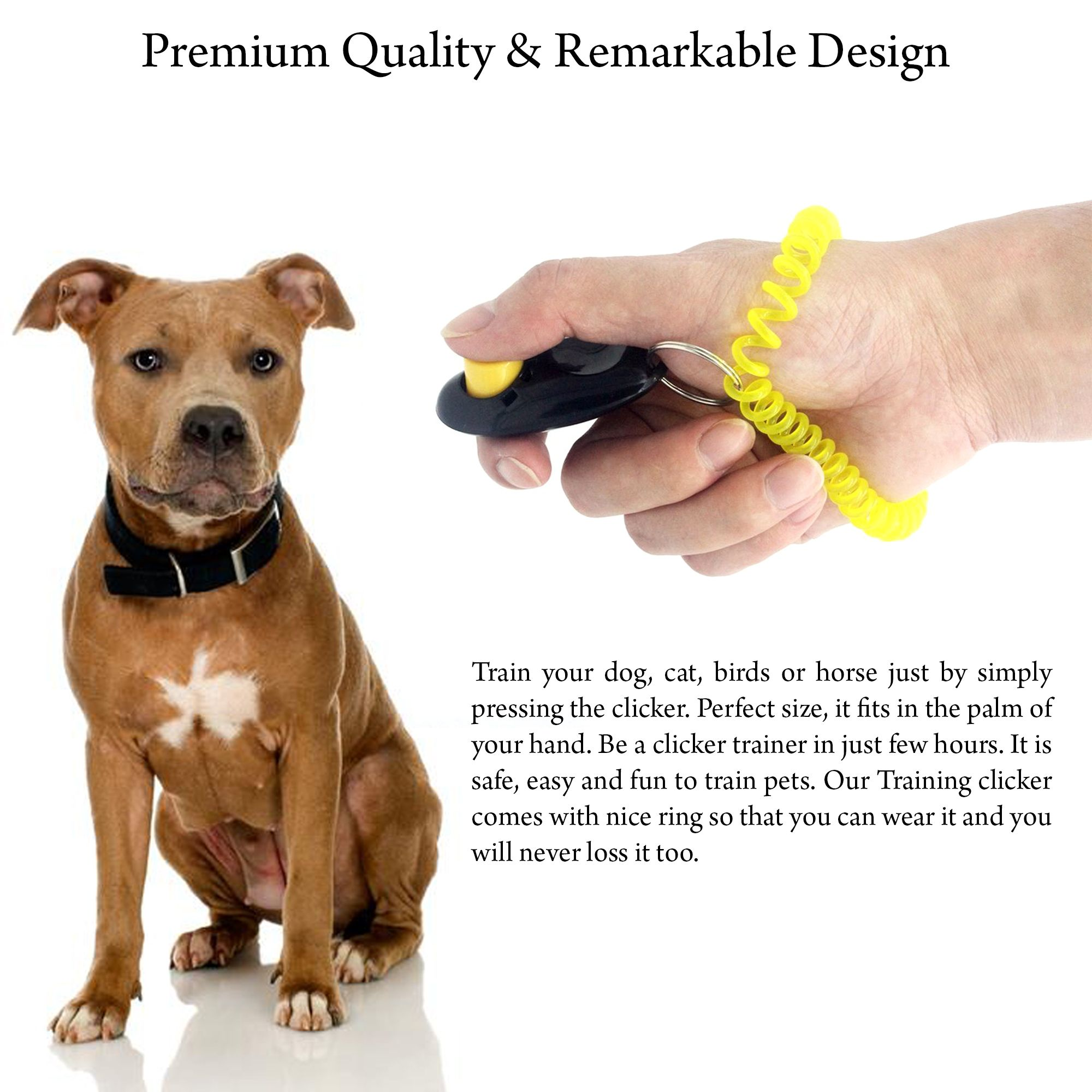 Dog Training Clicker And Dog Whistle With Free Ebooks Are Sold By