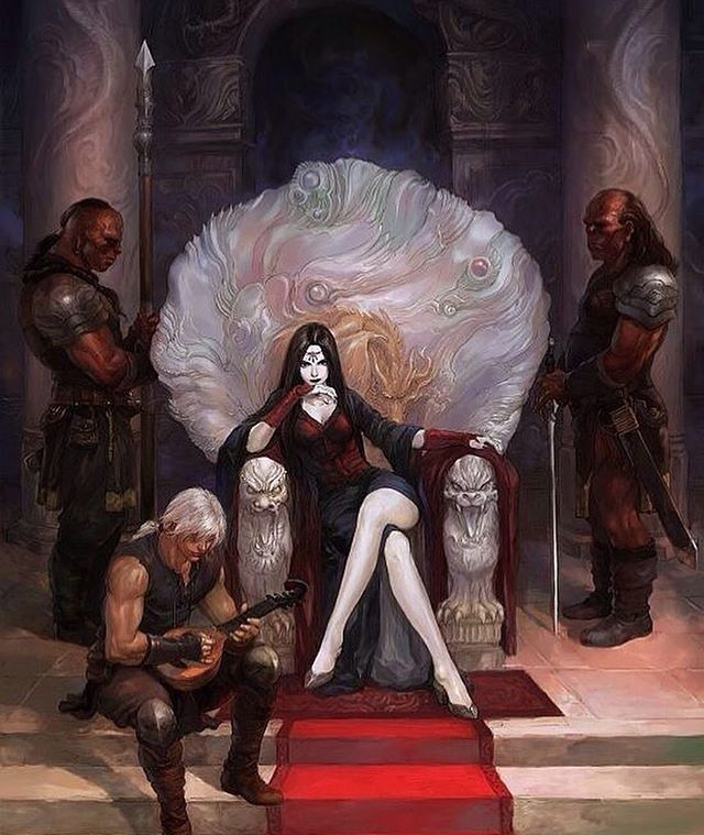 maeve, Rowan and some of the cadre | Fantasy art, Throne of glass, Art