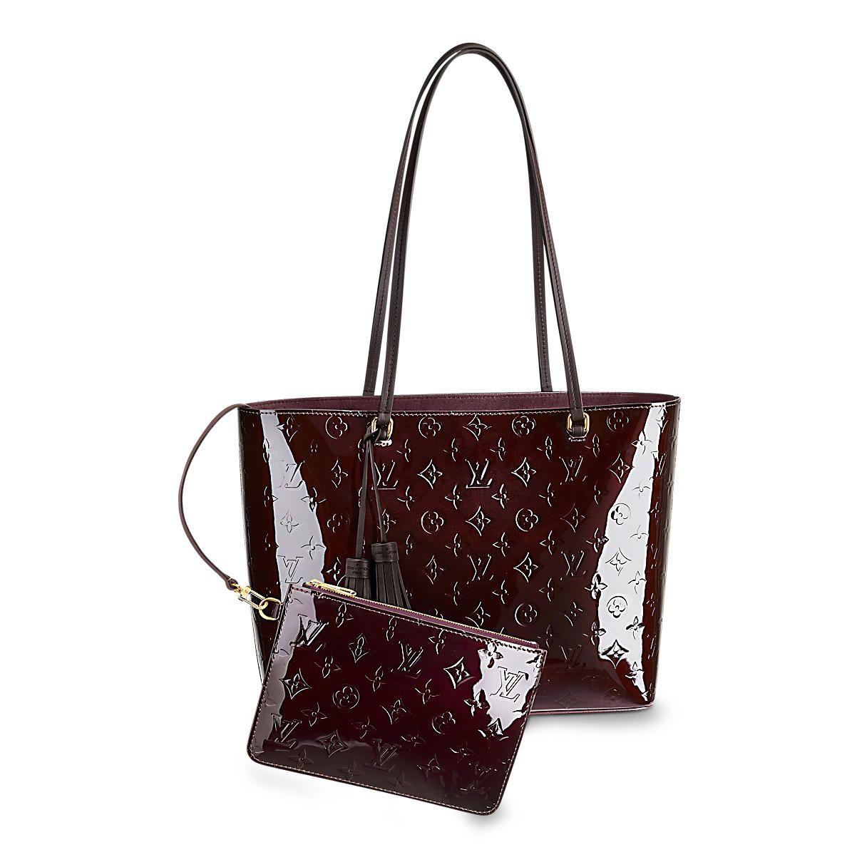 Long Beach MM Monogram Vernis Women Handbags  6a9015df78e5a