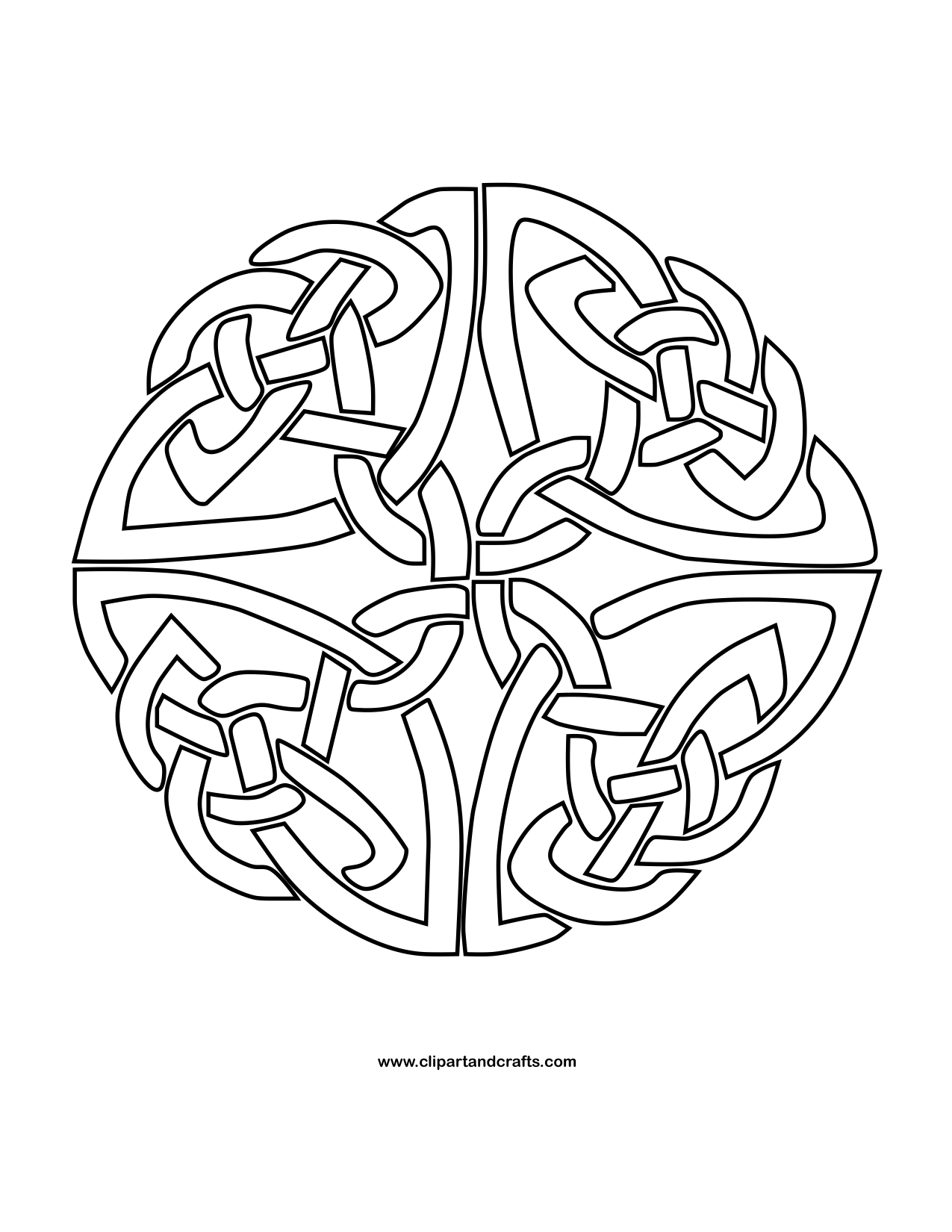 free celtic symbols coloring pages | Mandala Monday - More Free Celtic Mandalas to Color ...