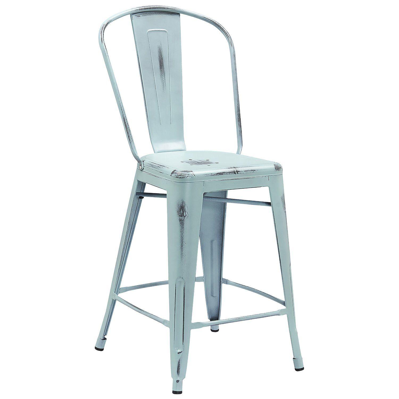 Amazing Amazon Com Flash Furniture High Distressed Dream Metal Creativecarmelina Interior Chair Design Creativecarmelinacom