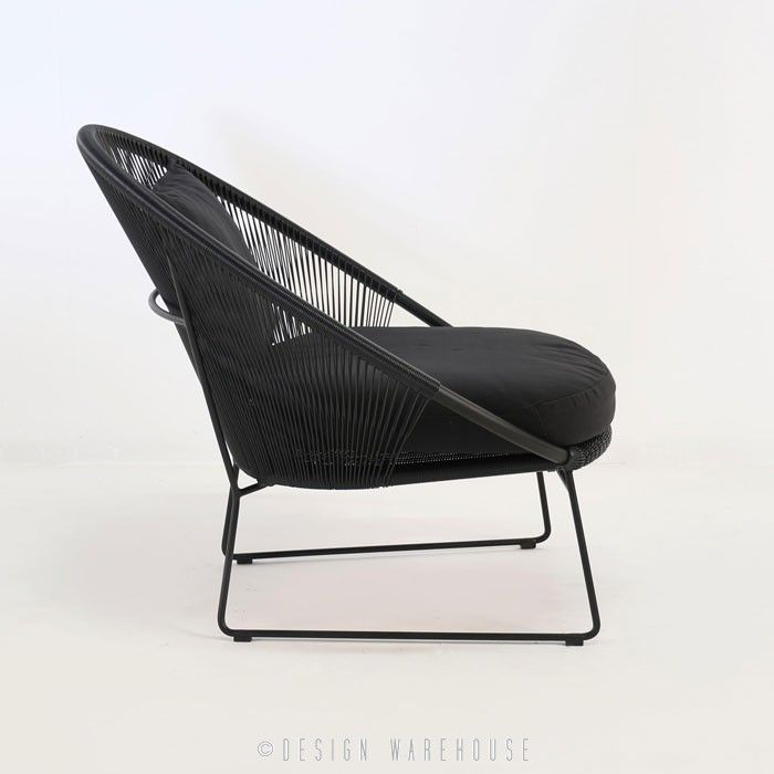 Natalie Outdoor Relaxing Lounge Chair (Black)   Relaxing Chairs   Relaxing