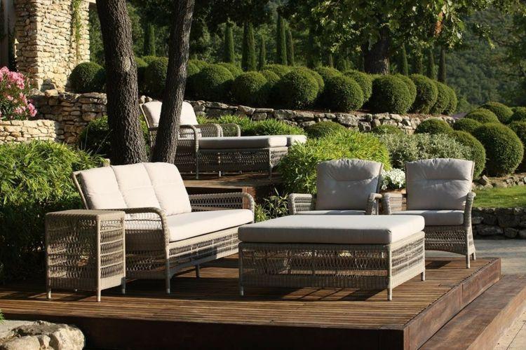 Mobilier de jardin lounge en 25 photos fascinantes! | HOME ...
