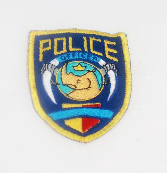 Thousands of various iron on patches, sew on biker patches, sheriff patches,  police patches, and other law enforcement patches.