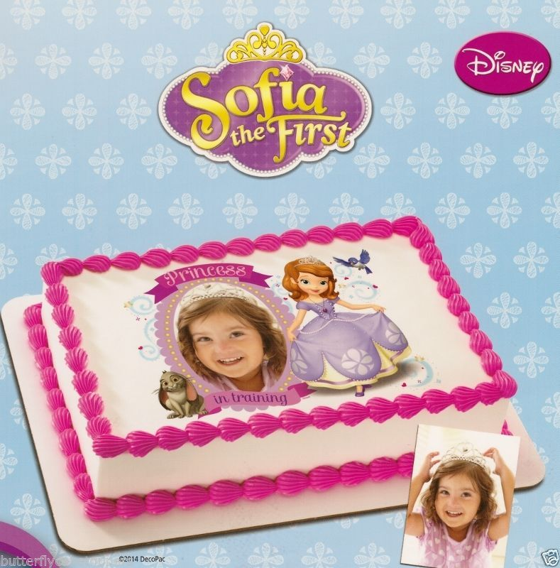 SOFIA THE FIRST Add Your Picture Edible Image FROSTING