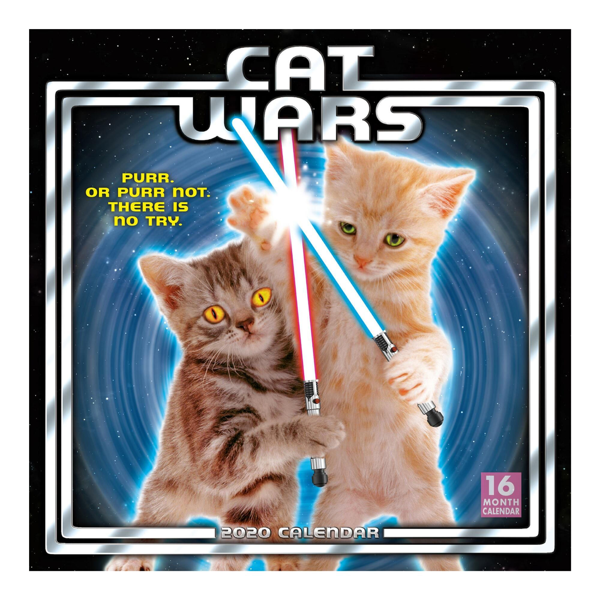 Cat Wars 2020 Wall Calendar Calendar, Cats, Wall calendar