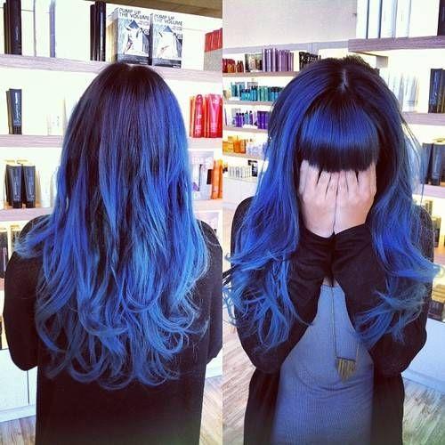 Blue Ombre Hair 30 Hair Styles Pinterest Hair Blue Hair And