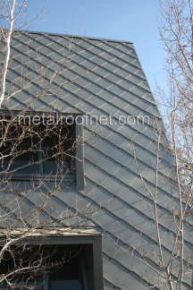 Zinc Diamond Shingles Metal Roof Network Architectural