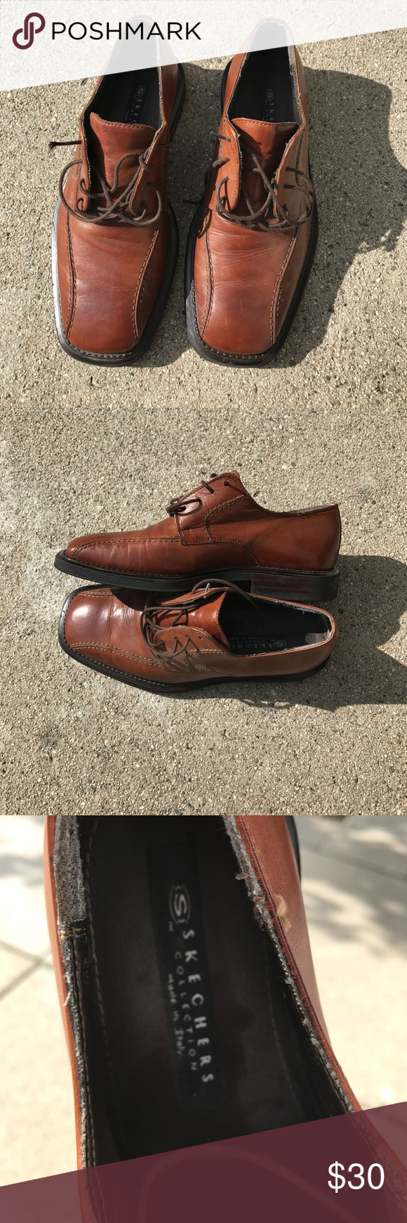 Men's Skechers made in Italy dress shoes Made in Italy 5OLJA
