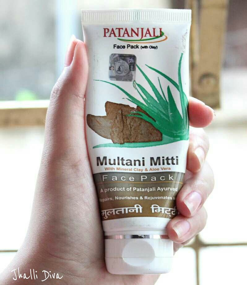 Patanjali Multani Mitti Face Pack Multani Mitti Face Pack