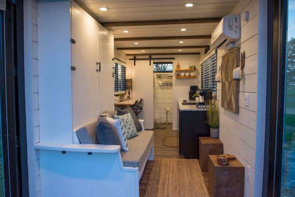 Elegant container home tiny house1 near magnolia tiny