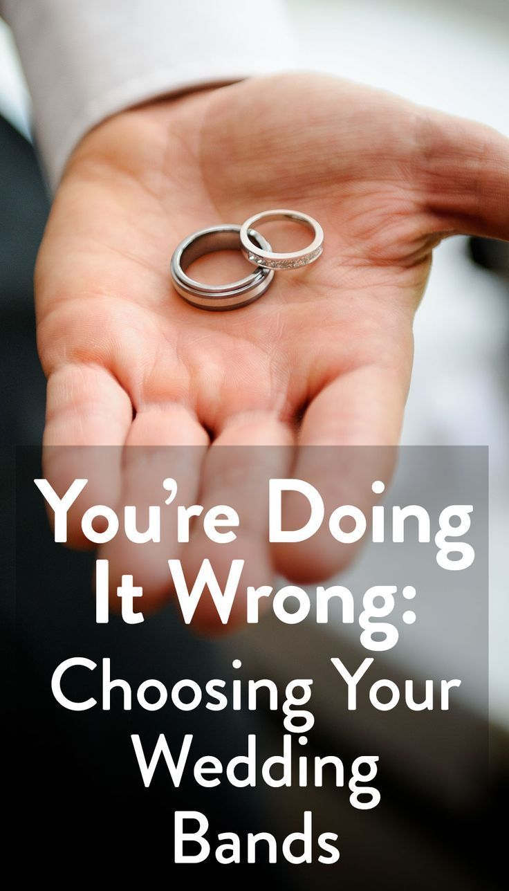 6 mistakes couples make when choosing their wedding bands