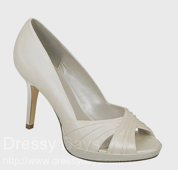 2793083c65d Celine Women s Dress Shoes and Wedding Shoes in Ivory Satin   CCS0318