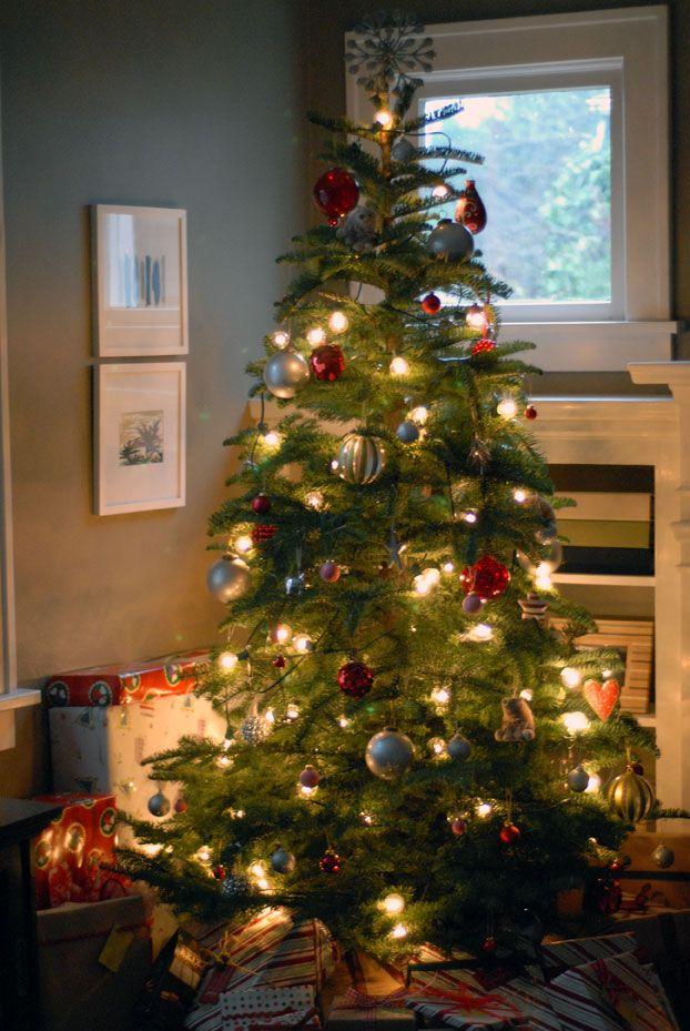 Target globe lights for Christmas tree Christmas tree