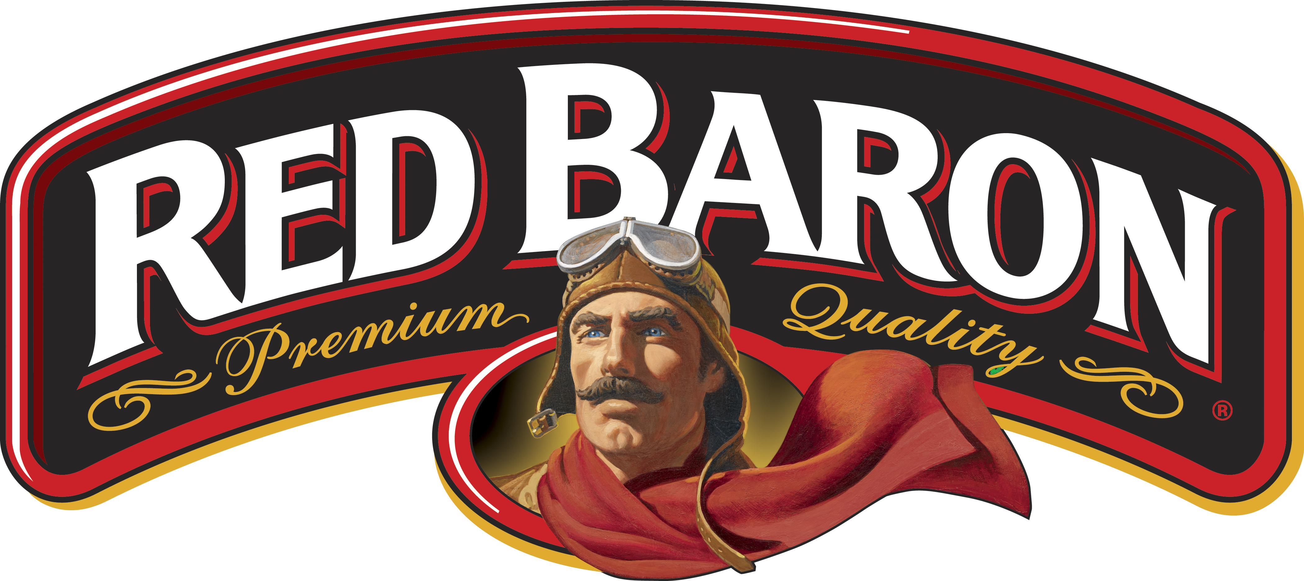red baron pizza logo red pinterest
