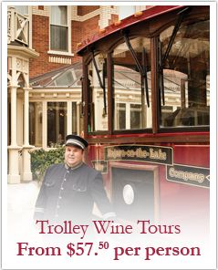 Prince of Whales (Niagara on the Lake)- visited here in 1997, but did not do the wine trolley tour.  Fun!