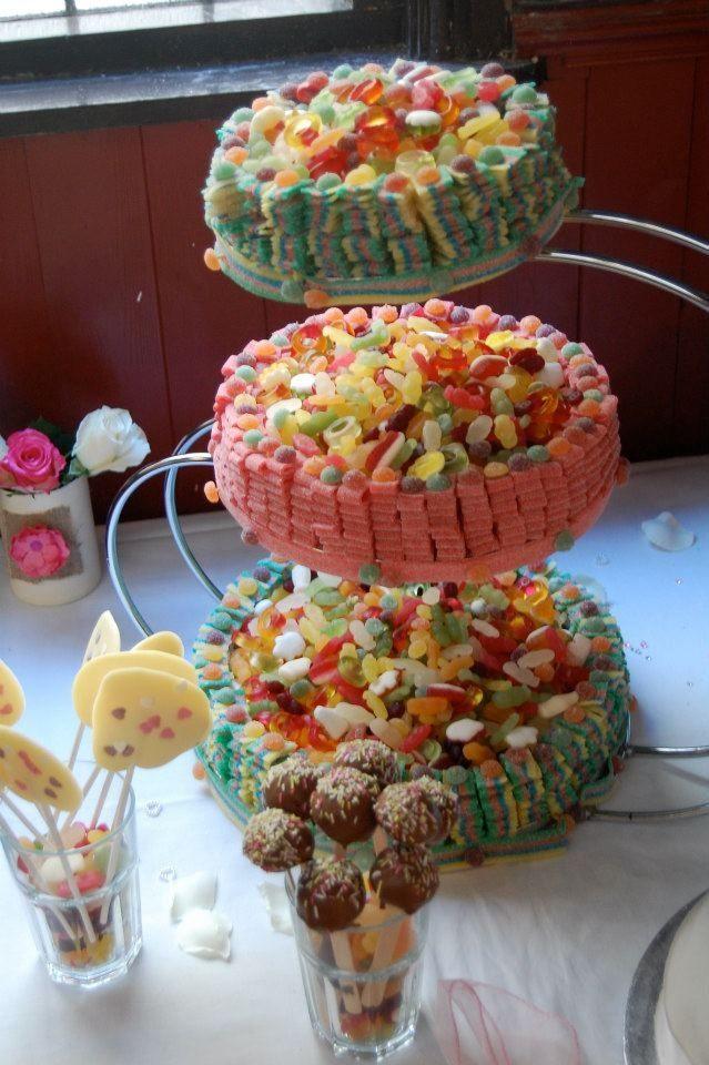 Haribo Sweet Wedding Cake