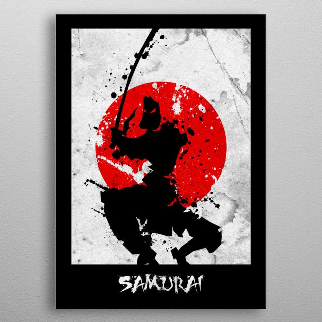 KNIGHT SAMURAI by FARKI15 DESIGN | metal posters - Displate | Displate thumbnail