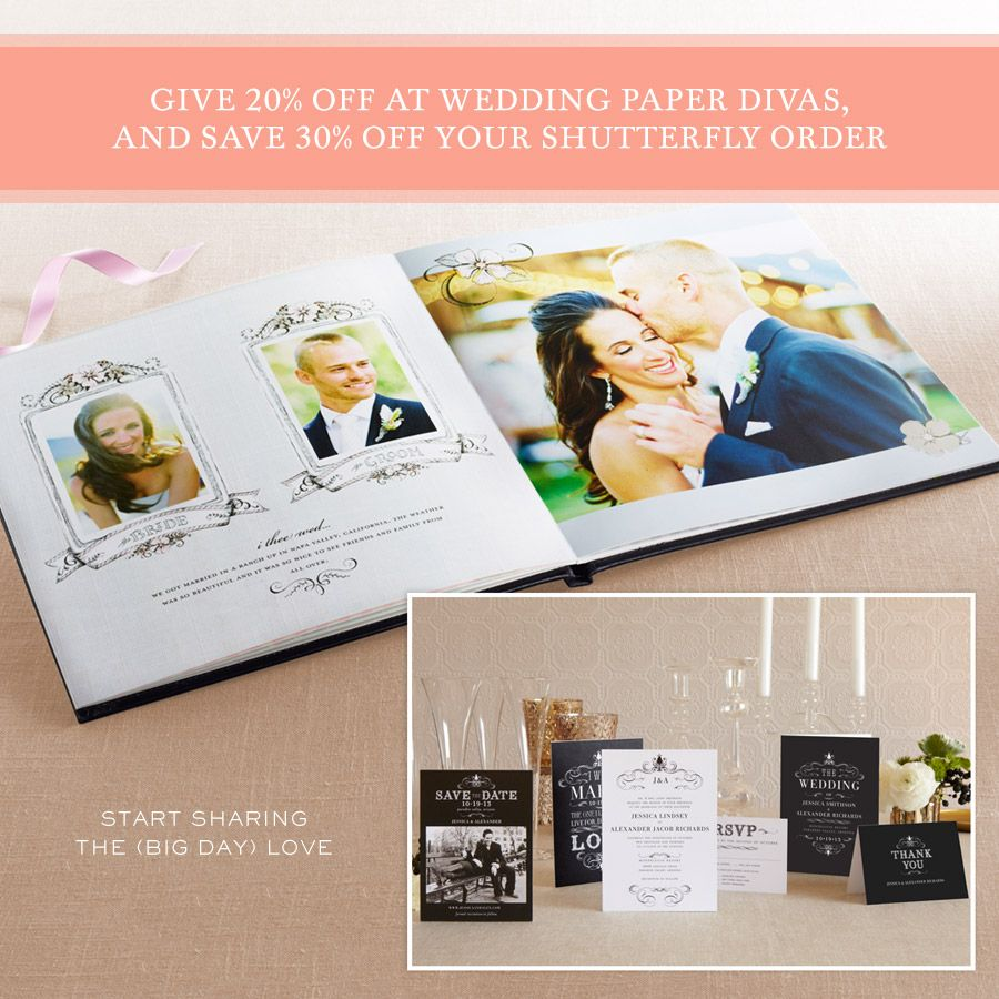 Give 3 Lucky Friends 20 Off Wedding Paper Divas And You