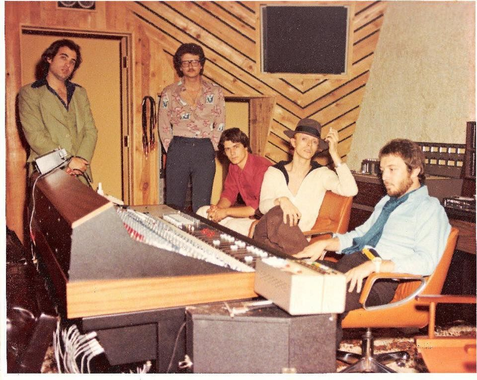 """""""Young Americans"""" recording sessions, Sigma Studios, 1974"""