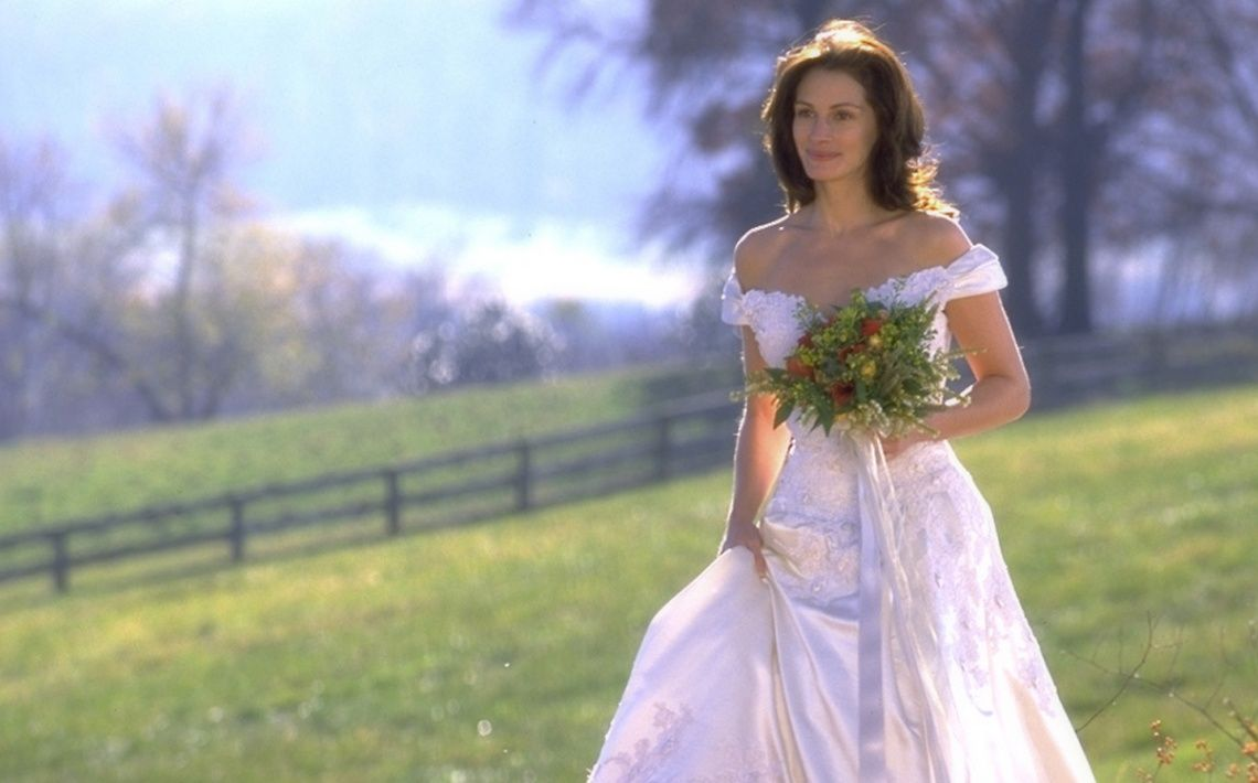 Mamma mia wedding dress  Runaway bride  Wedding Dresses in Cinema and in Television