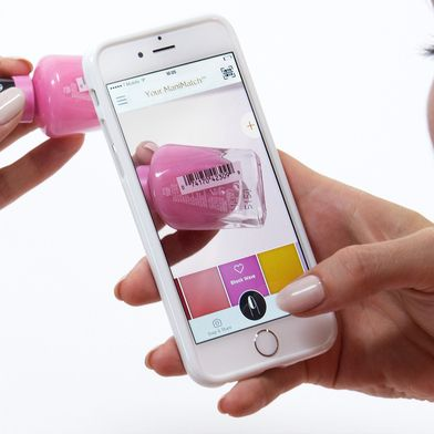 DYK you could try on polish at the drugstore without ever opening the bottle? Just install the #ManiMatch app update, scan a #MiracleGel barcode and see how it looks on your nails!